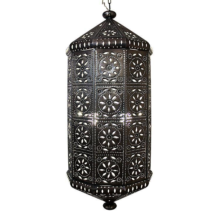 mexican tin lighting collection casablanca lantern lamc64