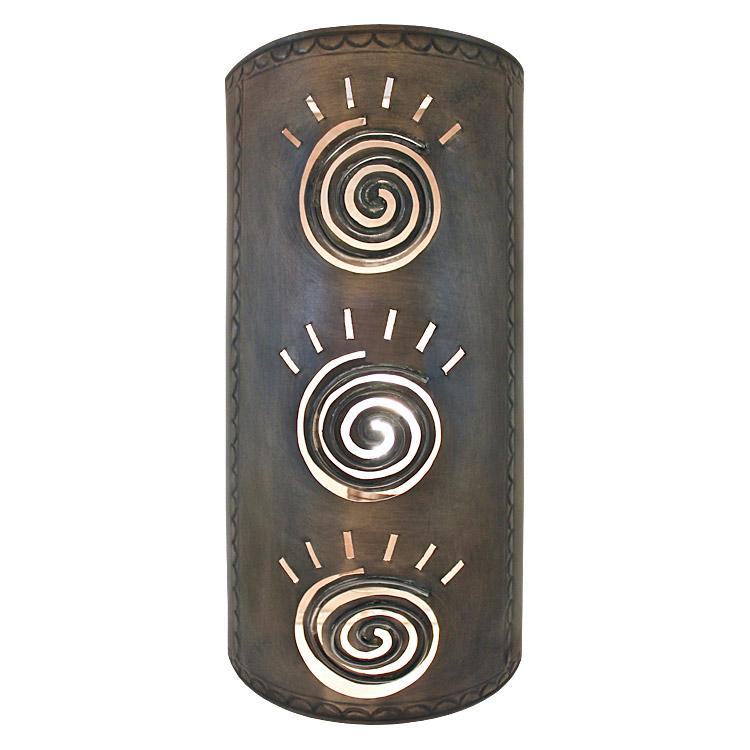 Wall Sconces Mexican : Mexican Tin Lighting Collection - Taos Wall Sconce - LAMW10