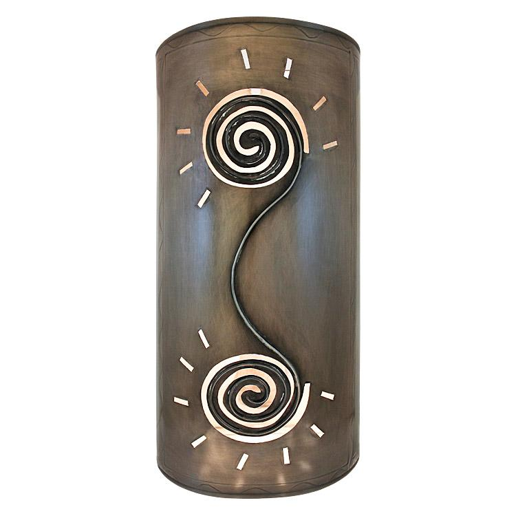 Mexican Metal Wall Sconces : Mexican Tin Lighting Collection - Sola Wall Sconce - LAMW11