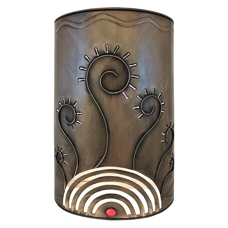 New Mexican Wall Sconces : Mexican Tin Lighting Collection - Verano Wall Sconce - LAMW09