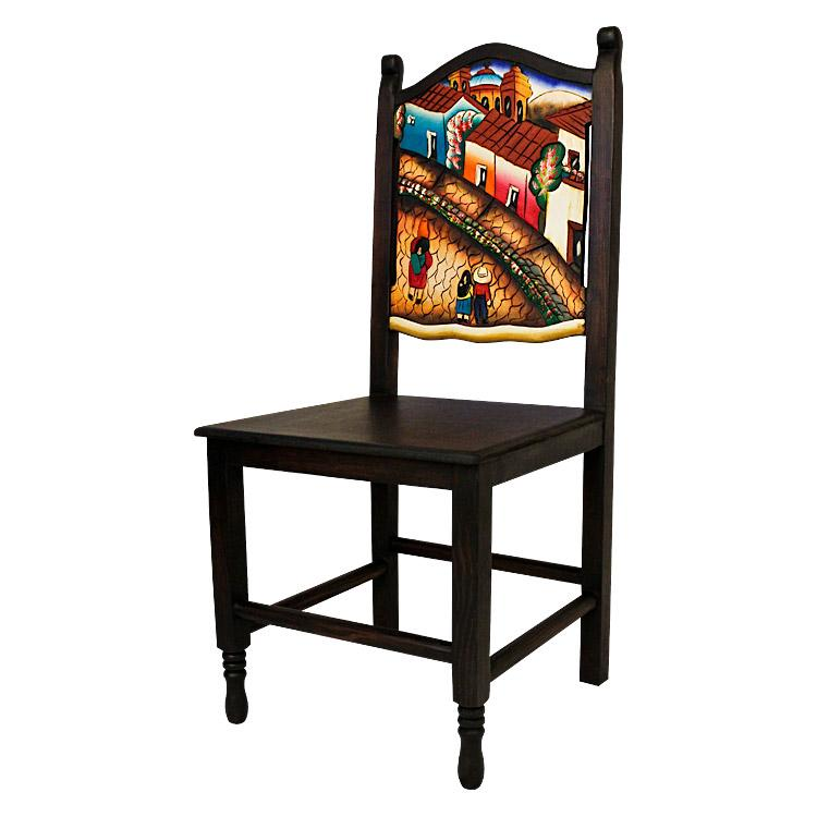 Carved Collection Pueblo Chair 3 Cc220