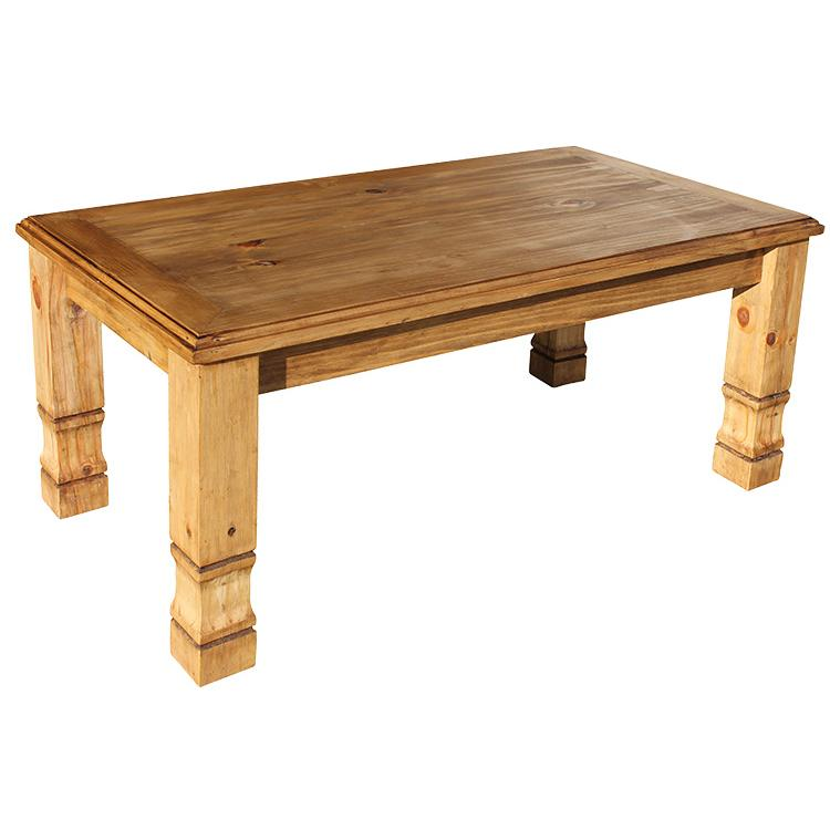 Rustic Pine Collection - Julio Coffee TableWithout Wormwood - CEN