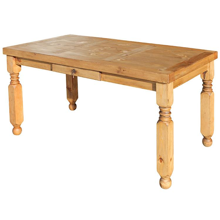 Rustic Pine Dining Table Medium Lyon Mexican Rustic Pine Dining Table