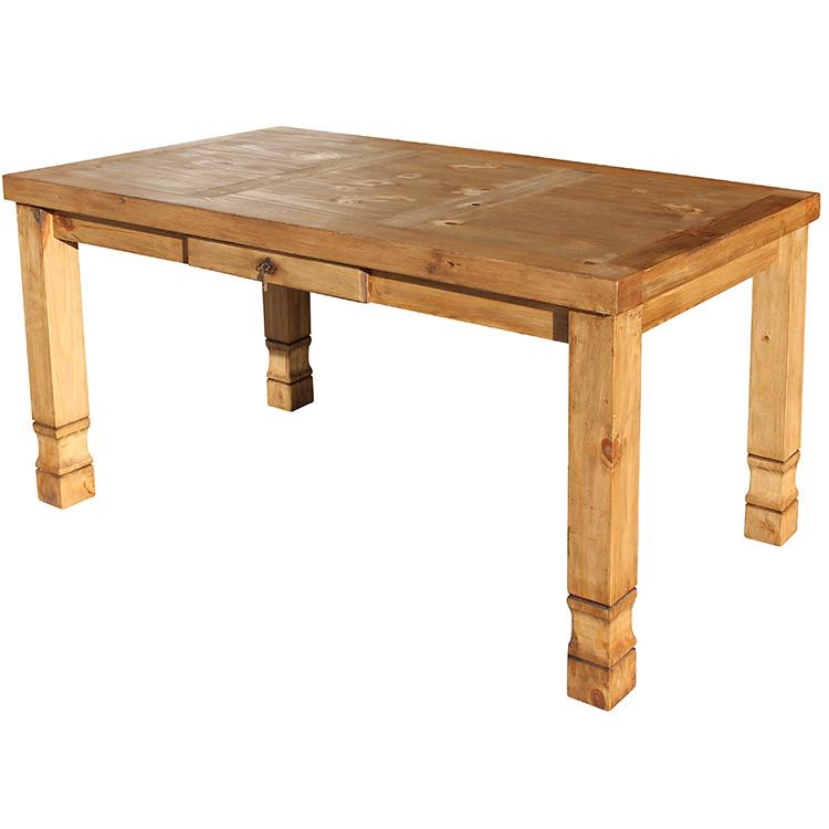Rustic Pine Collection Julio Dining Table MES28 : 1391201447 MES28a from www.lafuente.com size 750 x 750 jpeg 35kB