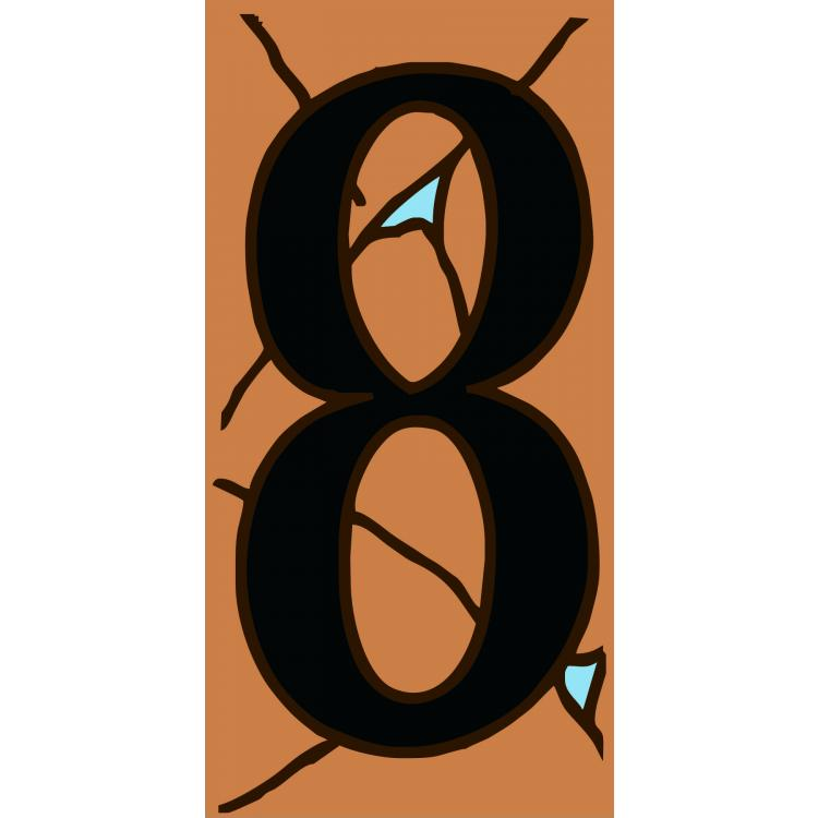 House Number 8:Terracotta & Turquoise