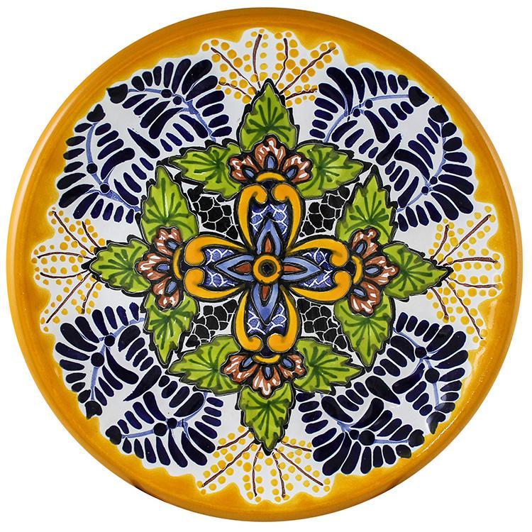 Talavera Salad Plate - Pattern 38 Salad Greens Seeds, Salad Greens Seed, Salad Seeds, Salad Greens, Garden Seeds, Vegetable Seeds