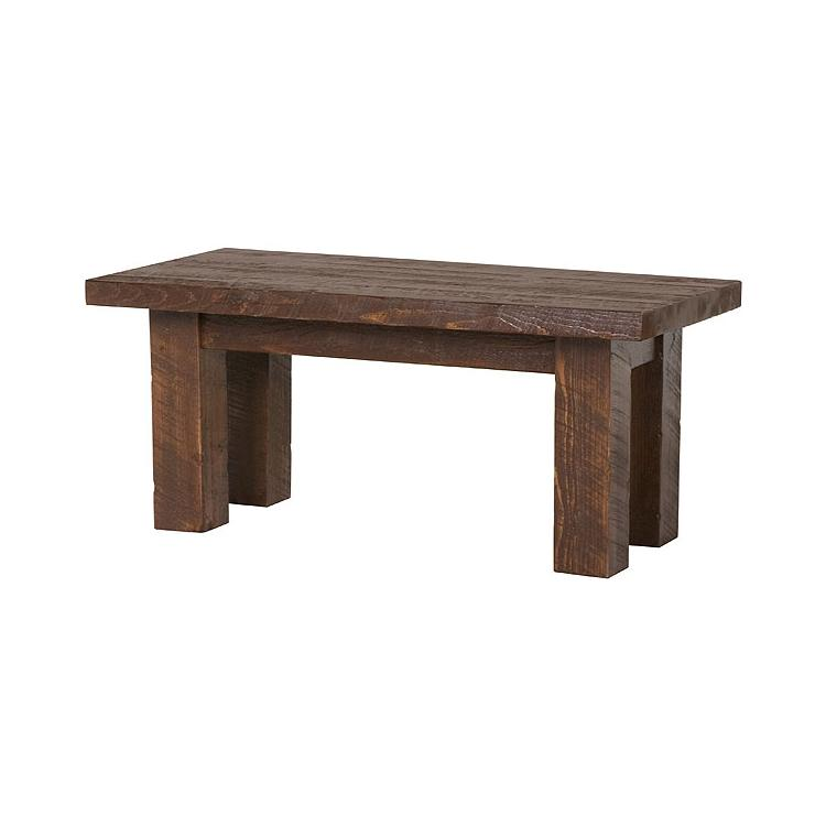 Tables and seating barnwood coffee table bw36 for Barnwood coffee table