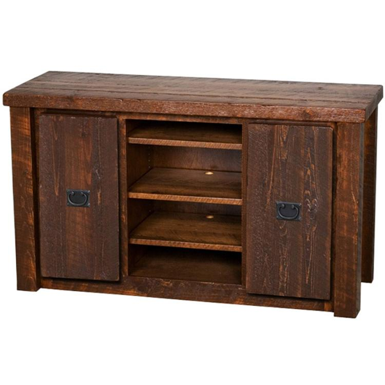 Casegoods barnwood 52 tv stand bw52 - Rustic furniture houston for complete home furnishing ...
