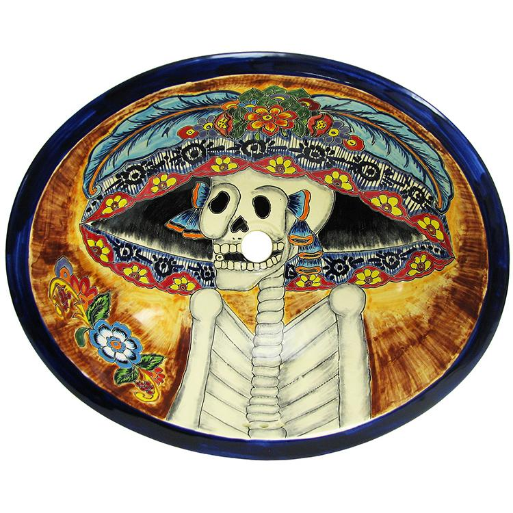 Authenic Hand-Painted Mexican Talavera Sinks