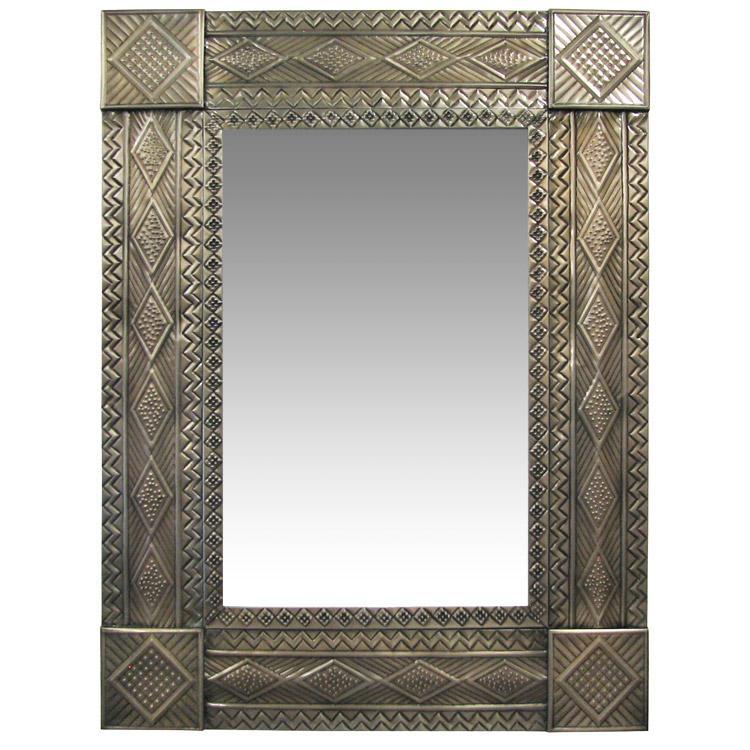 Large Tin Mirrors Collection Diamond Mirror Mir255