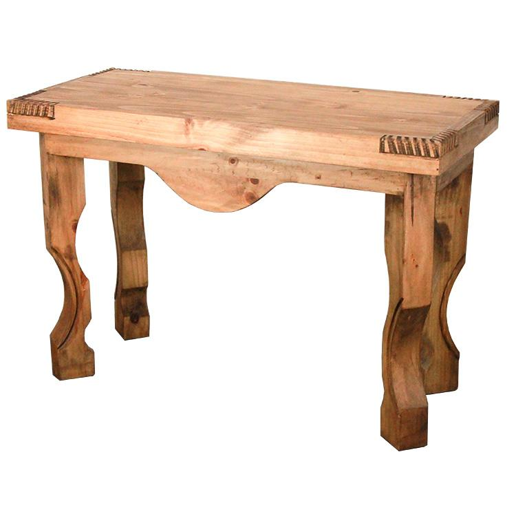 Rustic Pine Collection Yugo Console Table CON25