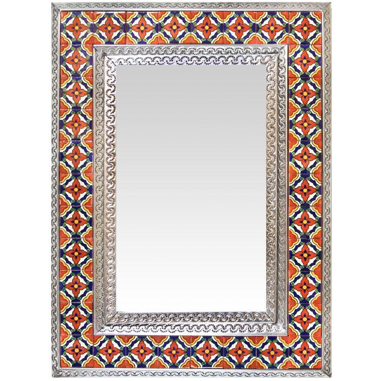Talavera Tile Mirror