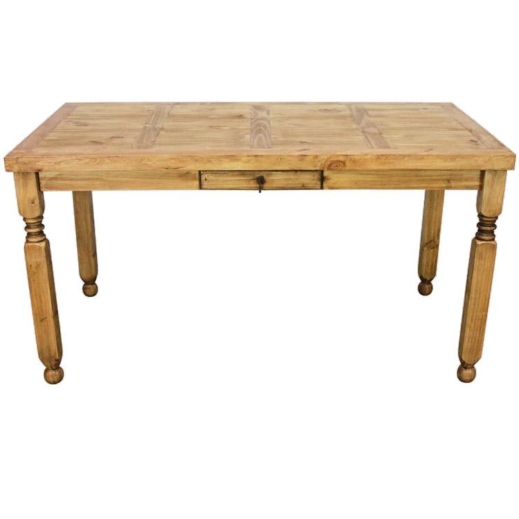 Rustic Pine Collection Lyon Counter Height Tablewithout Wormwood MES10