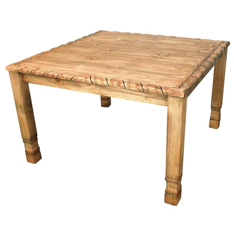 Rustic Pine Collection Texana Square Dining Table MES04R31