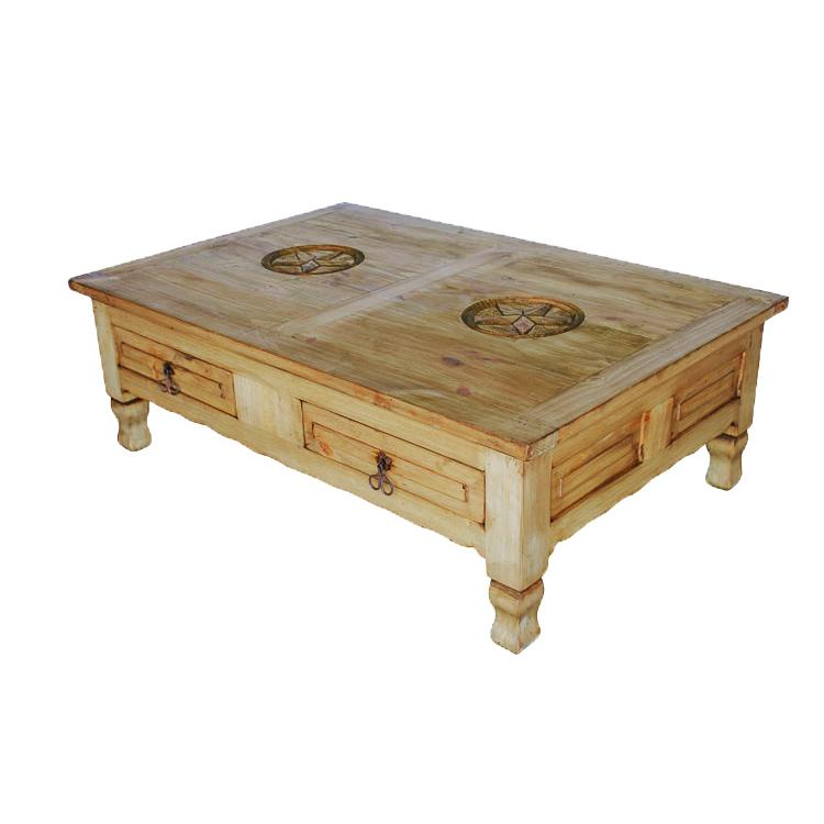 Rustic Pine Collection Keko Star Coffee Table Cen56