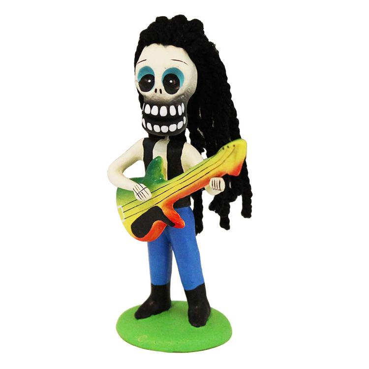 Day of the dead figures collection reggae rocker sedhd021
