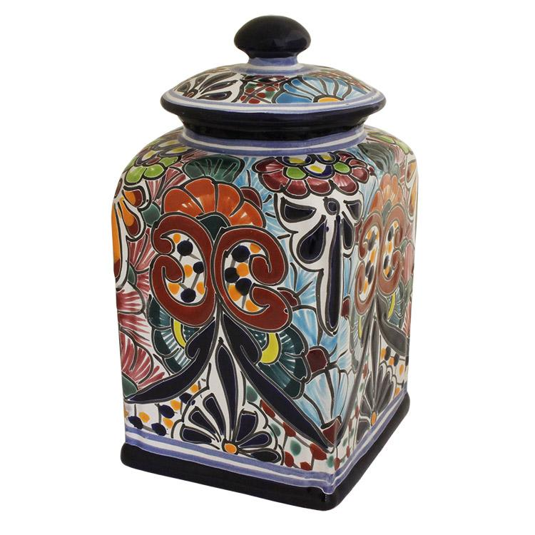 talavera kitchen canisters collection talavera kitchen kitchen canisters archives brent smith pottery brent