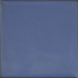 "La Fuente Imports Sky Blue Hand-Painted Talavera Tile 4"" ..."