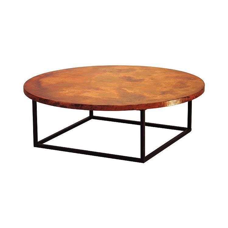Copper Collection Round Julia Coffee Table Cof 105r