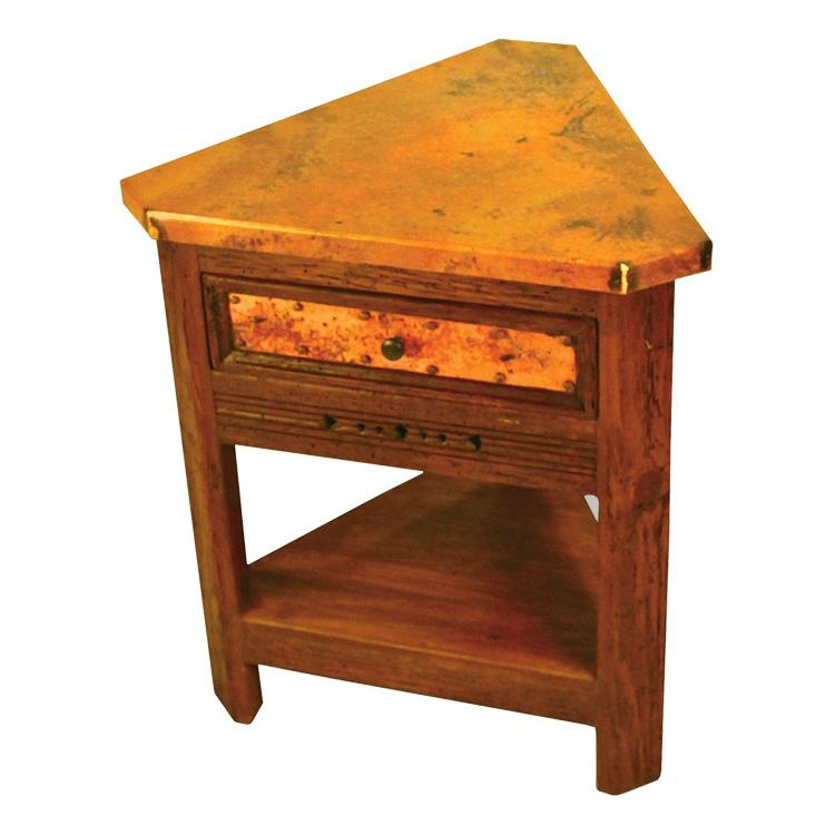 nightstands taos triangular nightstand bur 3cutri