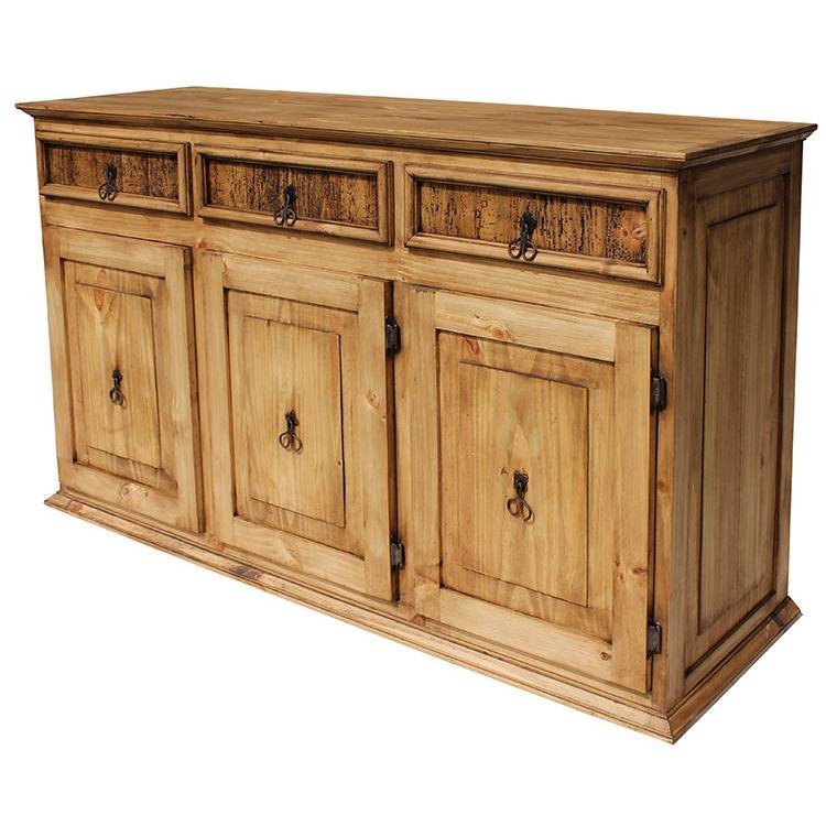 Rustic Pine Kitchen Cabinets: LargeClassic Sideboard
