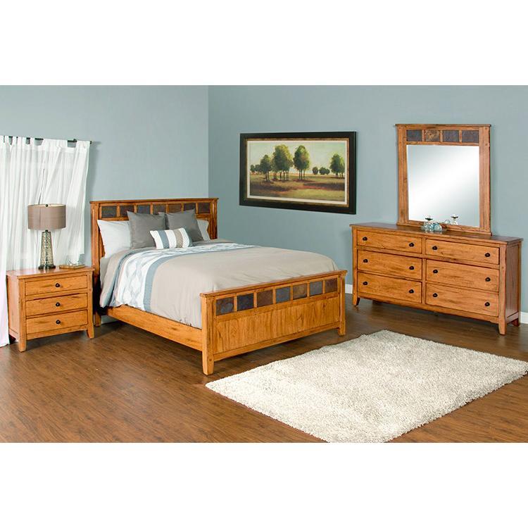 Rustic Oak Slate Collection Rustic Oak Sedonabedroom Suite 2334ro