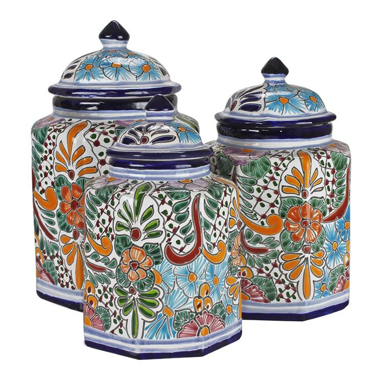 talavera kitchen canisters collection talavera kitchen