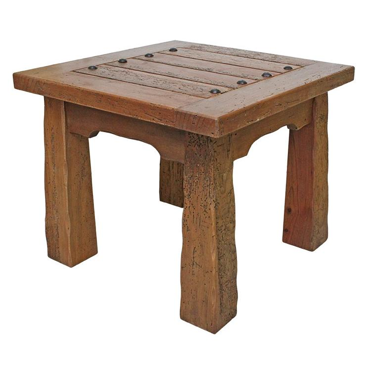 Occasional tables hacienda end table lr 2307c for Lr furniture