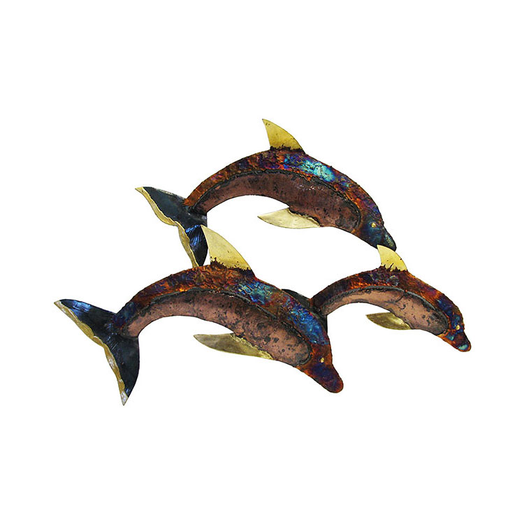 Metal Wall Art Collection - Jumping Dolphin - MWA17