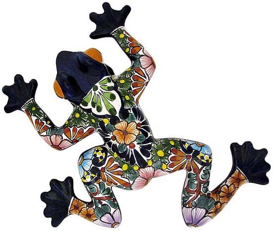 Talavera Wall Art talavera wall art collection - talavera frog - twa140