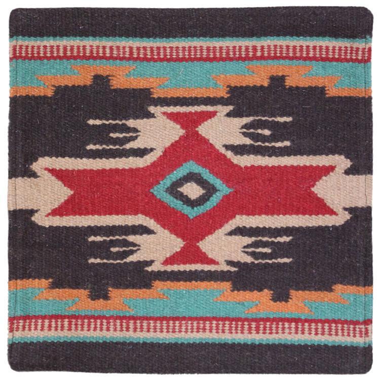 Southwest Pillows Collection - Wool Throw Pillow:Southwest Design EPP02 - PILLOW-EPP02