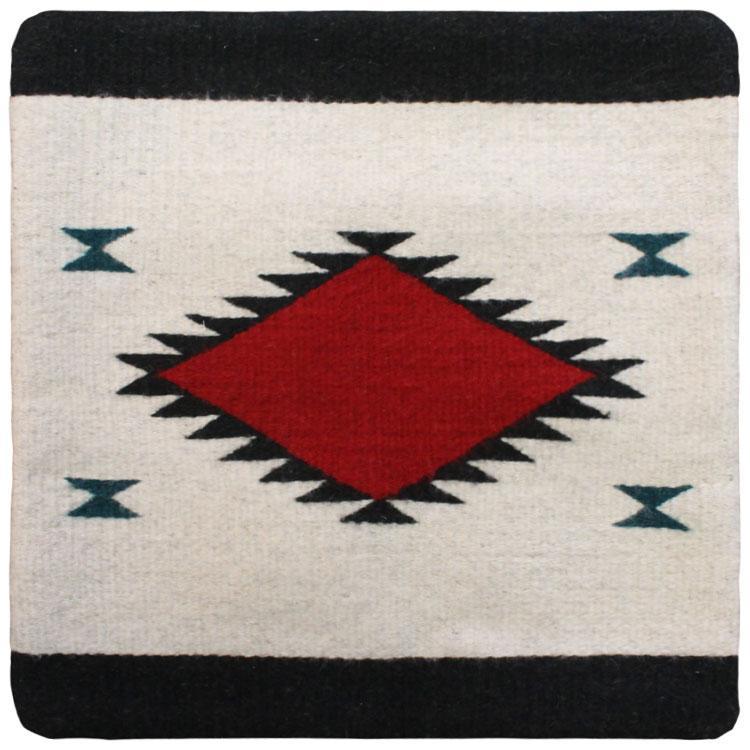 Zapotec Throw Pillows : Zapotec Weavings Collection - Wool Throw Pillow:Zapotec Design LP1 - PILLOW-LP1