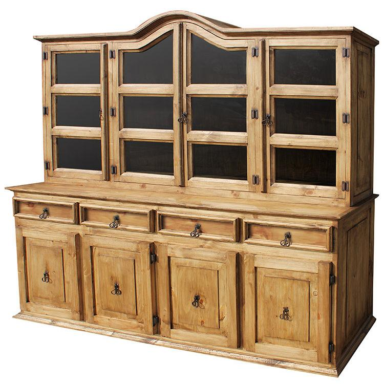 Rustic Pine Kitchen Cabinets: LargeApolonia Cupboard
