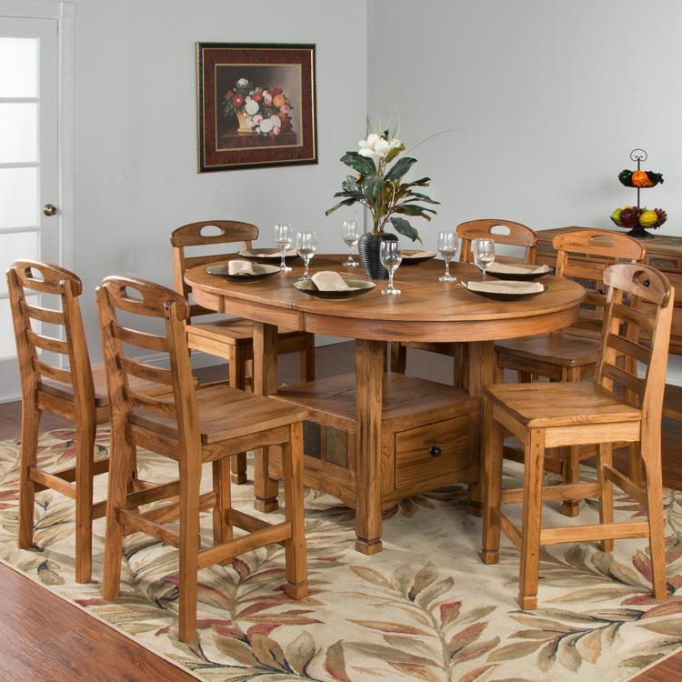 rustic oak  slate collection  rustic oak oval family