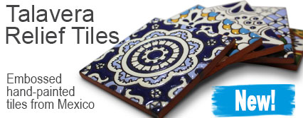 New! Talavera Relief Tiles