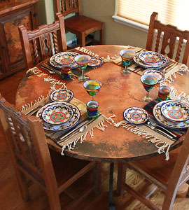 Rustic Furniture Mexican Furniture Talavera Tile Folk Art