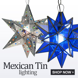 Mexican Tin Lighting