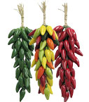 Ceramic Chili Ristras