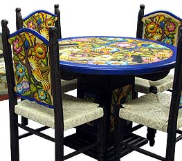 Carved Dining Tables