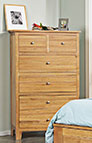 8-Drawer Dresser - Cottage Cherry Collection