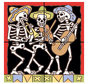 Day of the Dead Murals