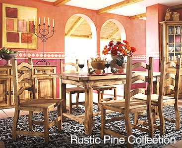 Attractive Rustic Furniture Collection