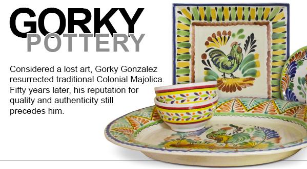 Gorky Gonzalez Majolica La Fuente Imports