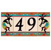 Ceramic House Numbers - Southwest Adobe