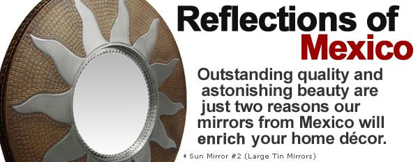 Sun Mirror #2 (Large Tin Mirrors)