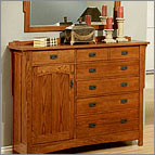 Mule Chest - Heartland Oak Collection