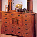 Mission Oak Grand Dresser - Mission Oak Collection