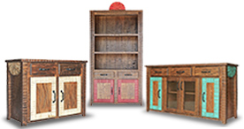 New Mexico Cabinets and Bookcases