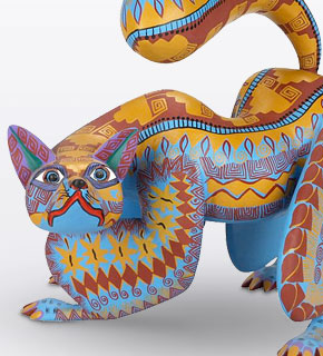 Oaxacan Carvings From $300 to $399