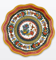Authentic Mexican Talavera Plates, Dinnerware, Trays, Bowls